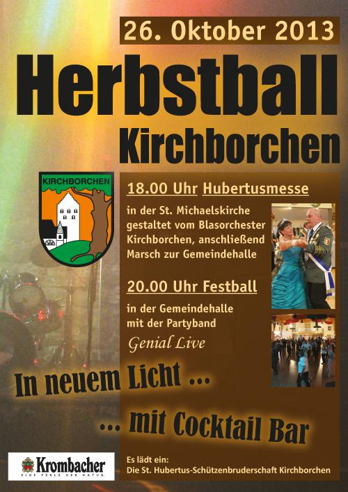 2013 10 25 Herbstballplakat