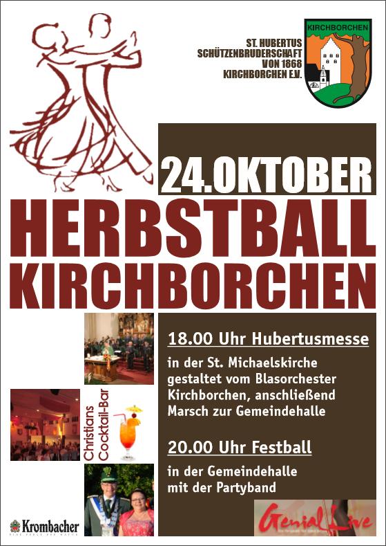 Plakat Herbstball 2015