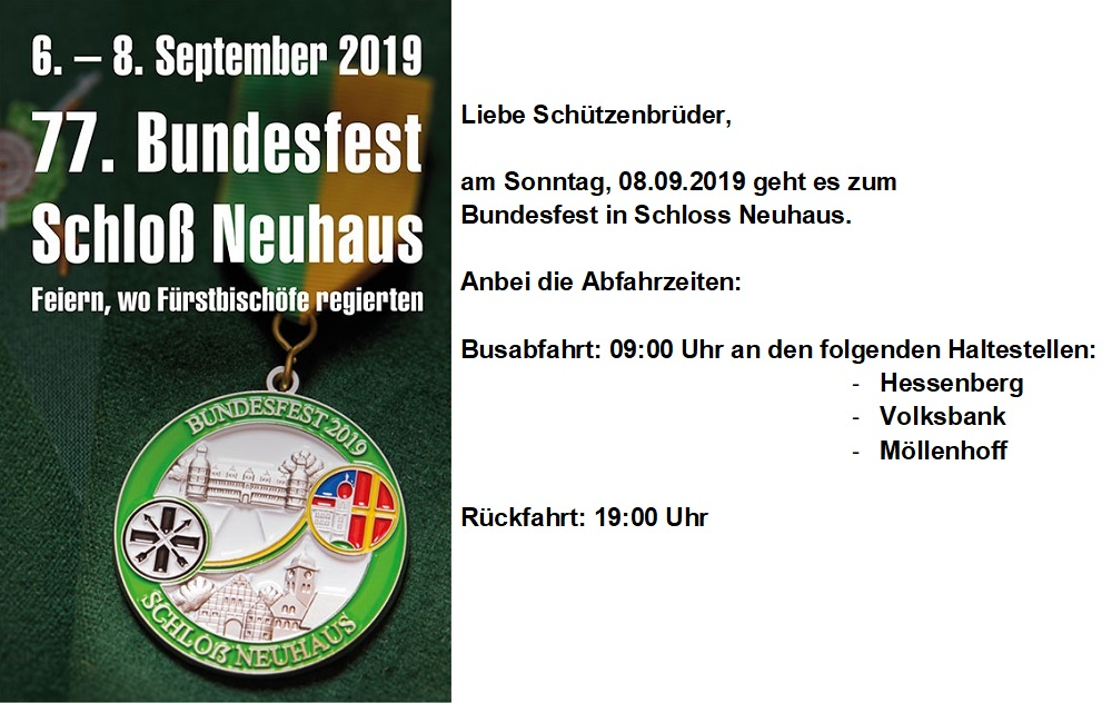 2019 08 28 Bundesfest Schloss Neuhaus
