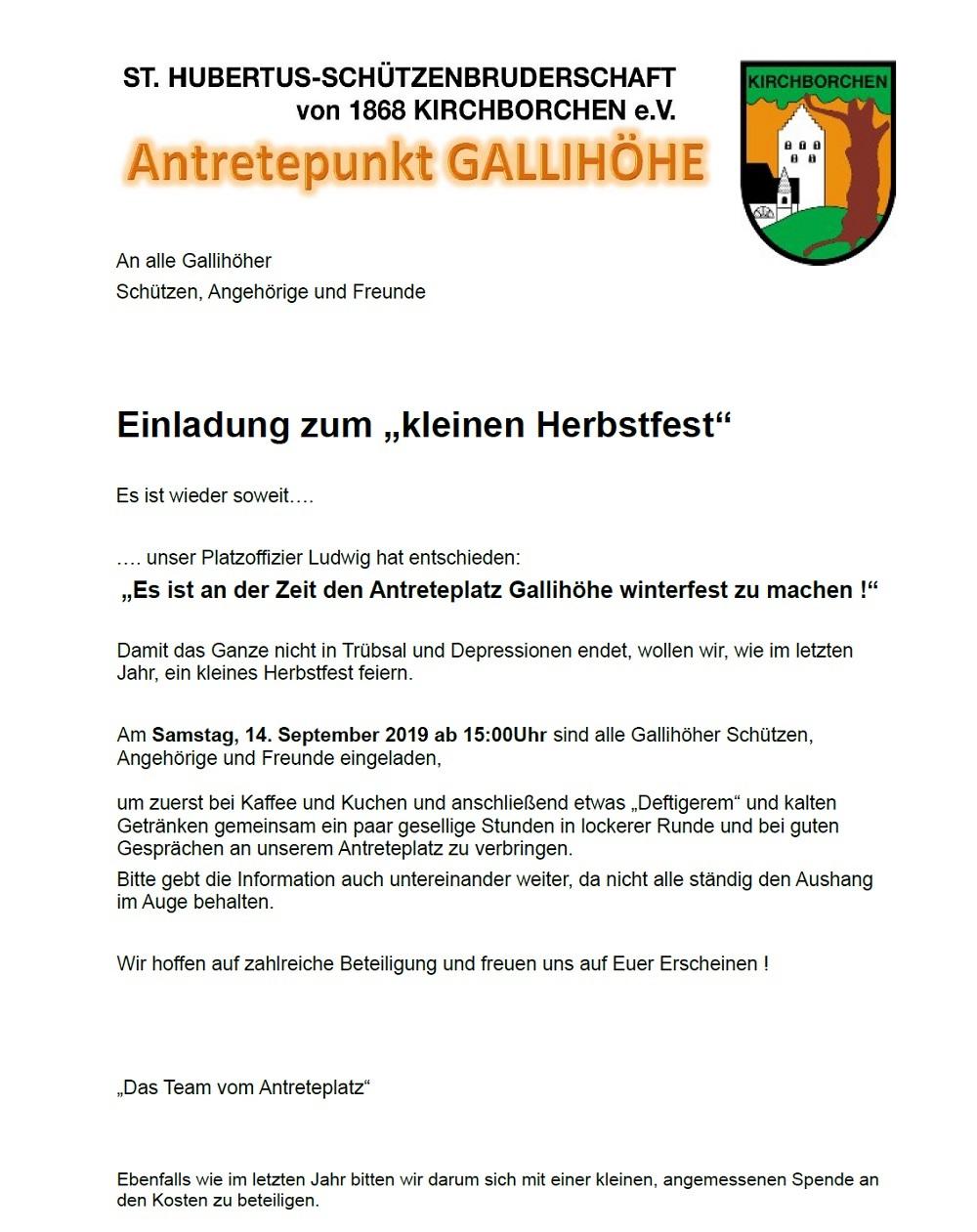 2019 09 05 Antreteplatz Herbstfest