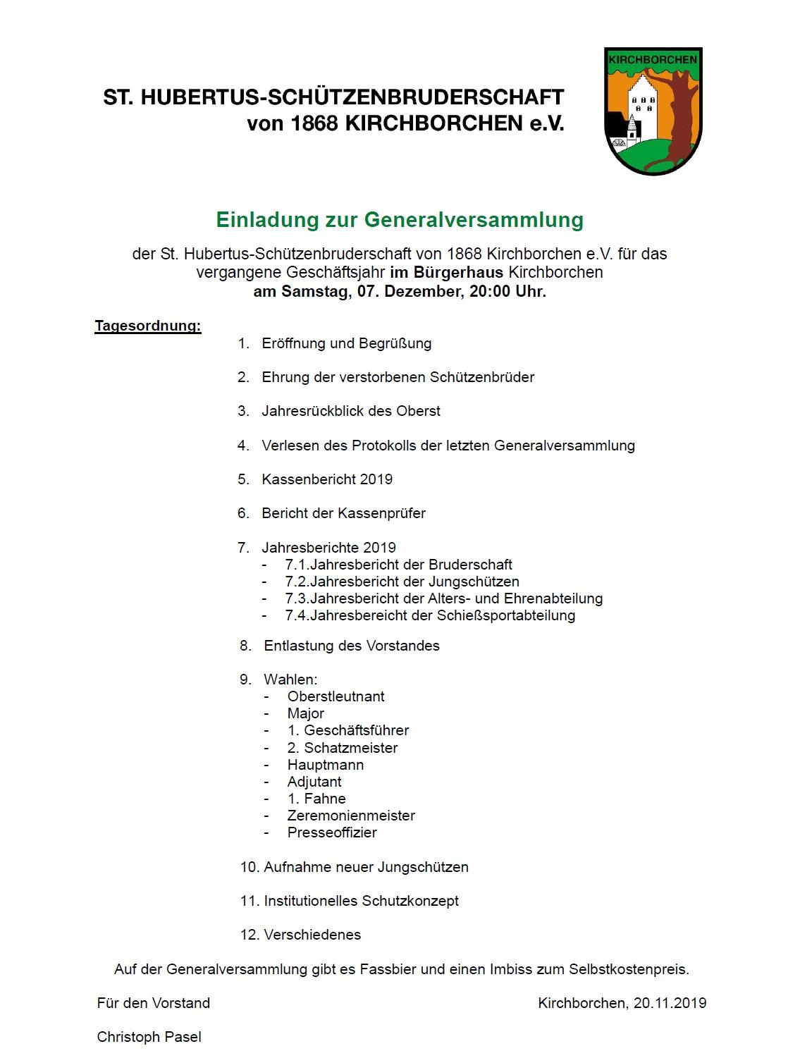 2019 11 25 Generalversammlung